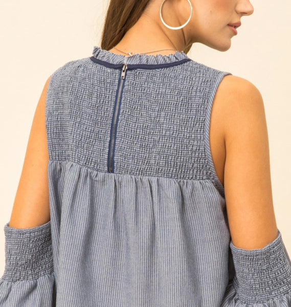 SANA Cold Shoulder Top