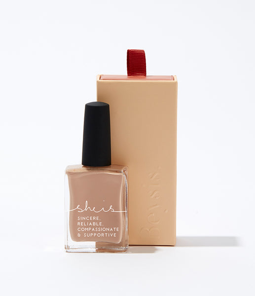 SHE IS Nail Polish - Camel
