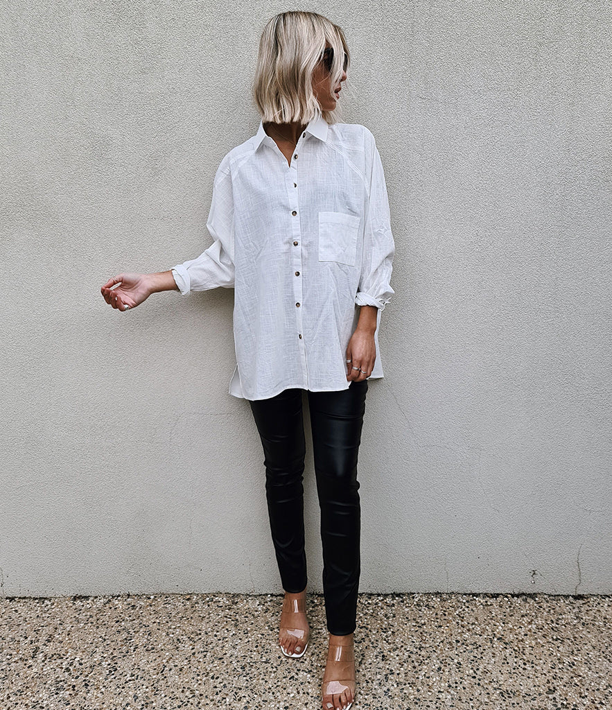 GRADY Oversize Cotton Shirt