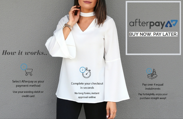 We now offer Afterpay!