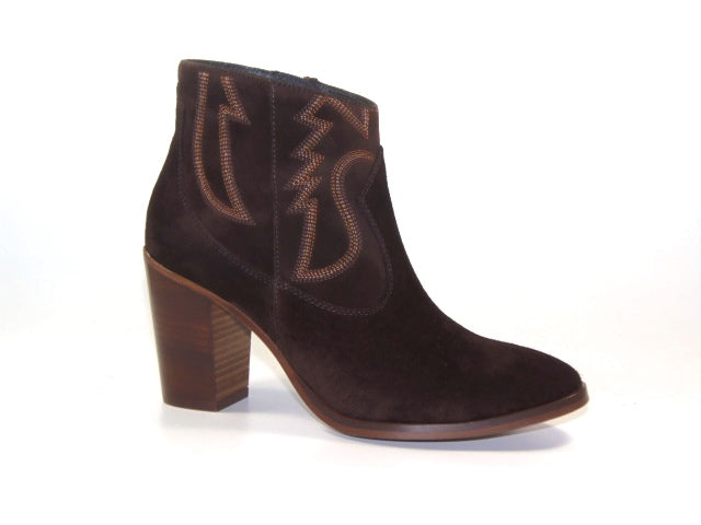 Kanna Adele Ankle boots - suede-burdeos-K2351