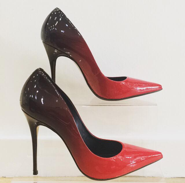 Gina Red Ombre Stiletto