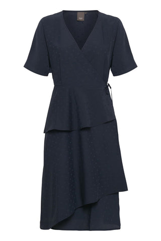 ICHI Carma Wrap Dress
