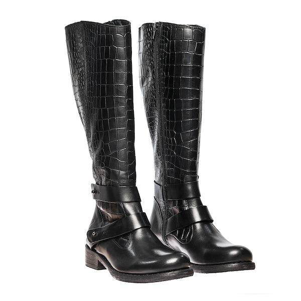 Felmini Calf+Dunde Boots -black- B931
