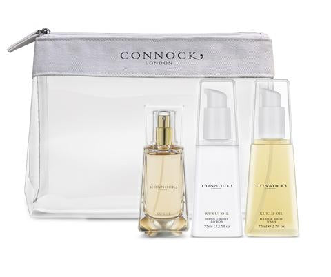 Connock London Kukui Oil Travel Gift Set