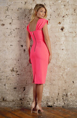 Fallon K Gigi Dress Coral