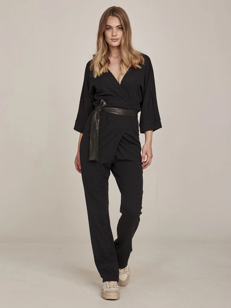 nu-denamrk-gill-jumpsuit-black-eva-lucia-boutique-perth-scotland