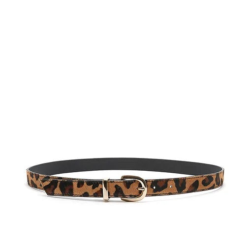 Bell & Fox Erin Belt - leopard pony leather