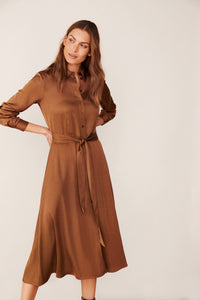 part-two-eriona-shirt-dress-hazel-brown-eva-lucia-boutique-perth-scotland