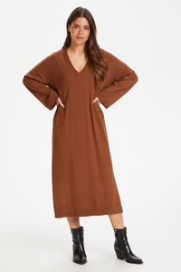 part-two-vivica-jumper-dress-hazel-brown-eva-lucia-boutique-perth-scotland