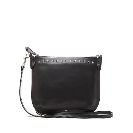 Bell & Fox Talia Crossbody Bag- black nappa