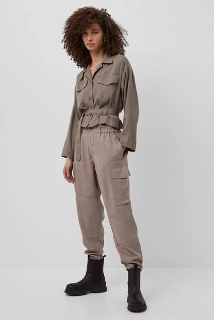 french-connection-slouchy-cargo-trousers-walnut-eva-lucia-boutique-perth-scotland