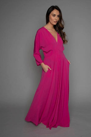 James Steward Stone Maxi Dress - Pink
