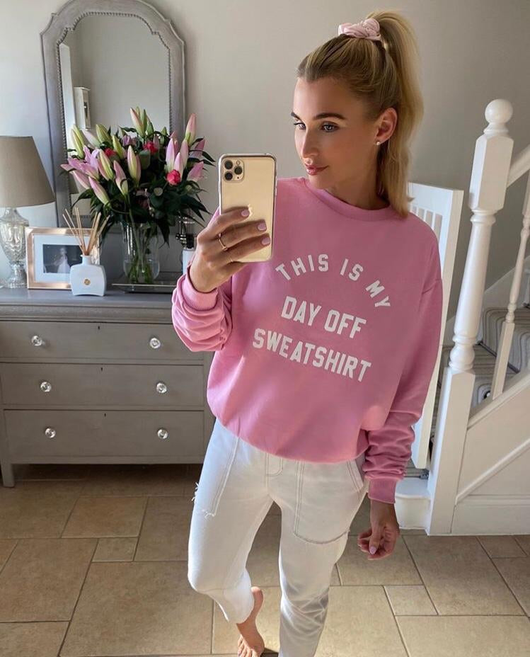 My Nelly- Day off sweater pink