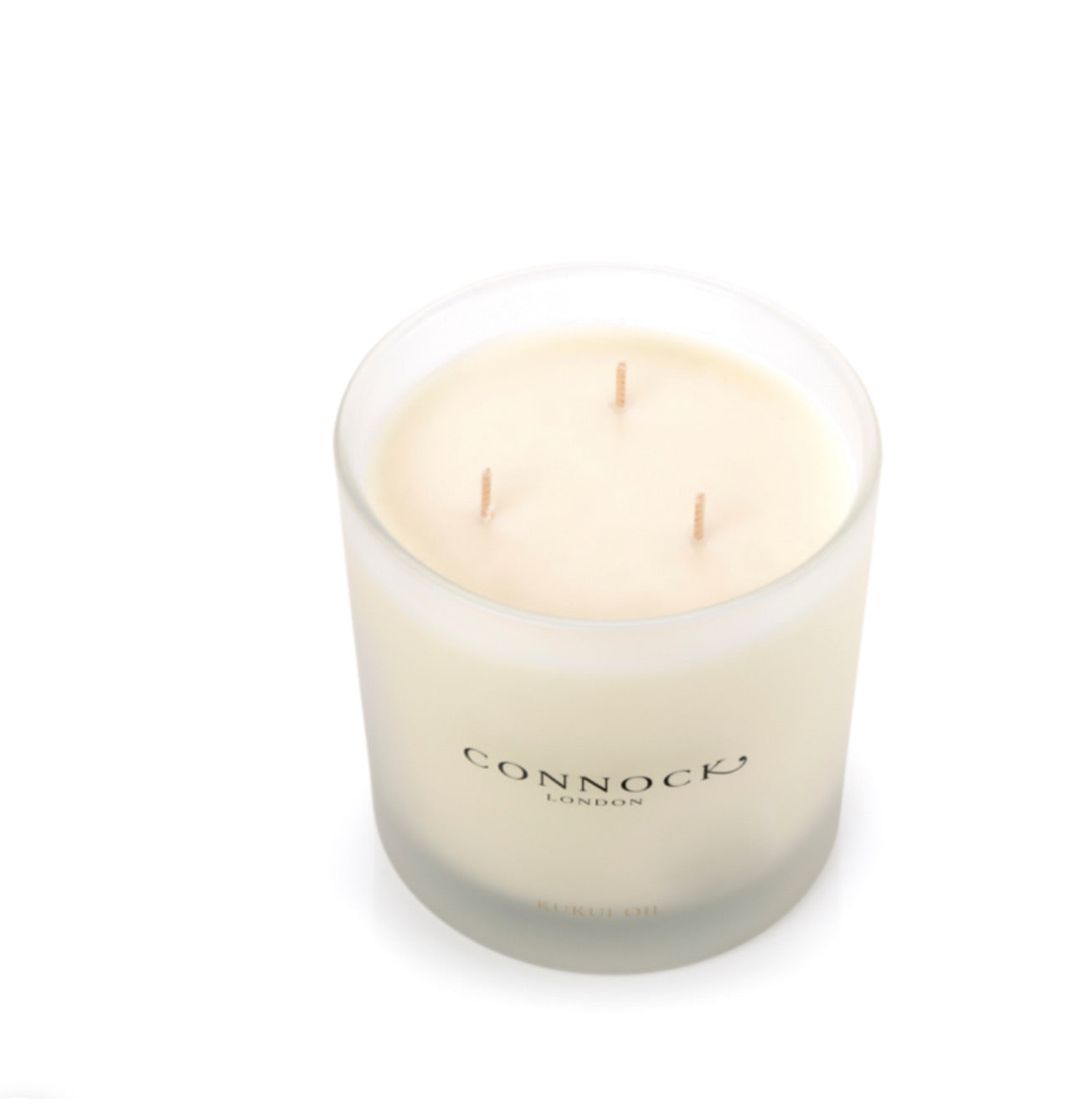 Connock Kukui Oil 3 Wick Candle