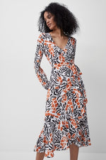 french connection Afra verona dress in an aztec print