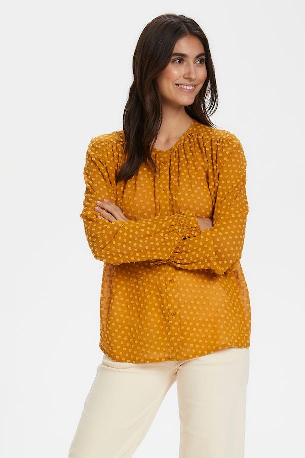 Part Two Biggi Blouse - Yellow - 30304924