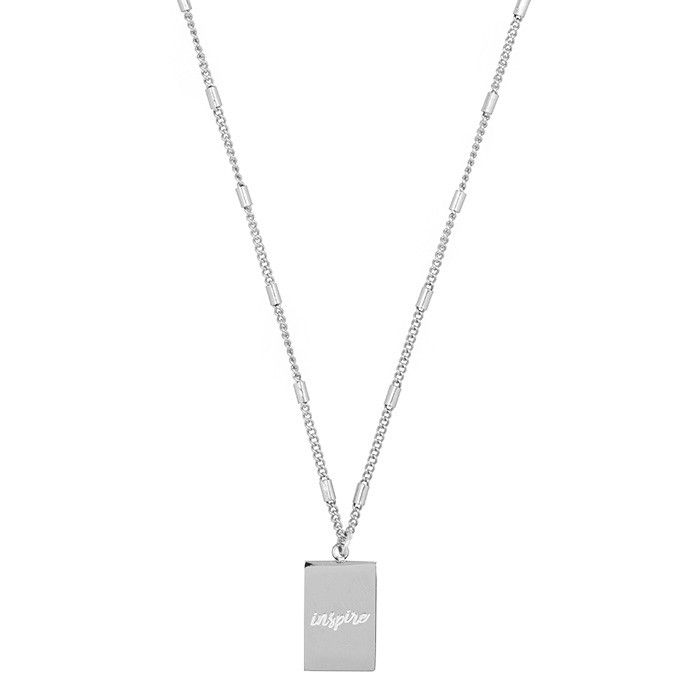 MyJewellery - Silver Inspire Charm Necklace