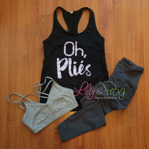 Oh, Plies Women's Racerback & Fitted Tank Top