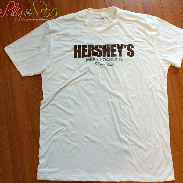 Candy Bar Family King Size T-Shirt