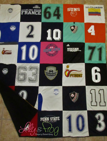 Keepsake T-Shirt Blanket Size Large (Full Blanket)