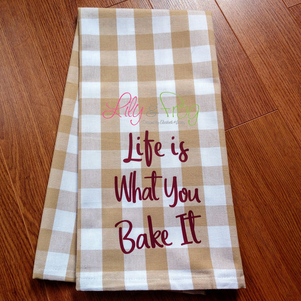 Kitchen Towel - Baking Theme (One Unit)