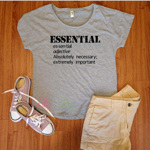 Essential Women's Fitted T-Shirt & Dolman T-Shirt