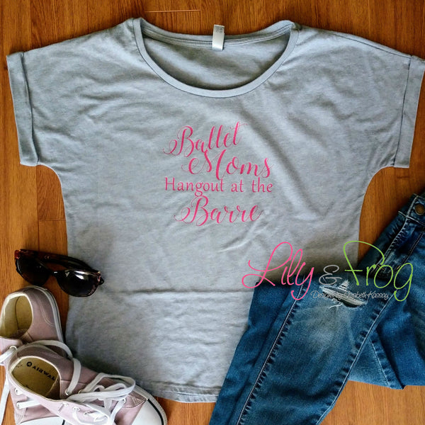Ballet Mom Women's Fitted T-Shirt & Dolman T-Shirt