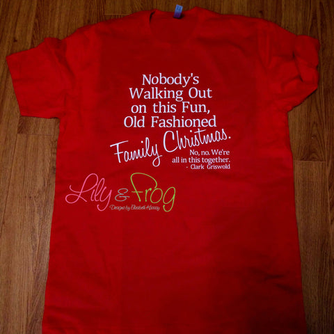 Old Fashioned Family Christmas Shirt