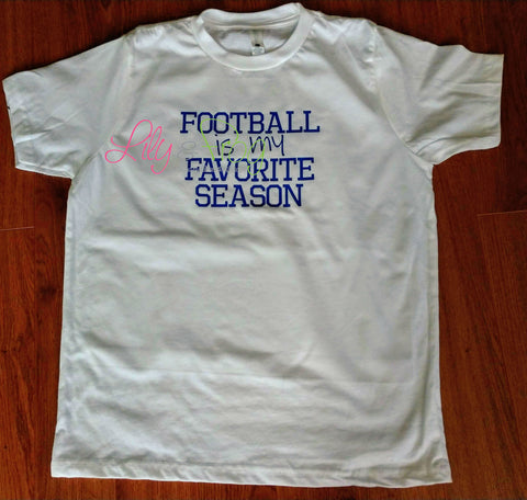 Football is my Favorite Season Kid's Shirt