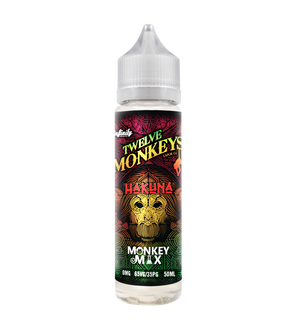 12 Monkeys Vapor Co. // 60ml - The Mist Factory Melbourne Vape Store