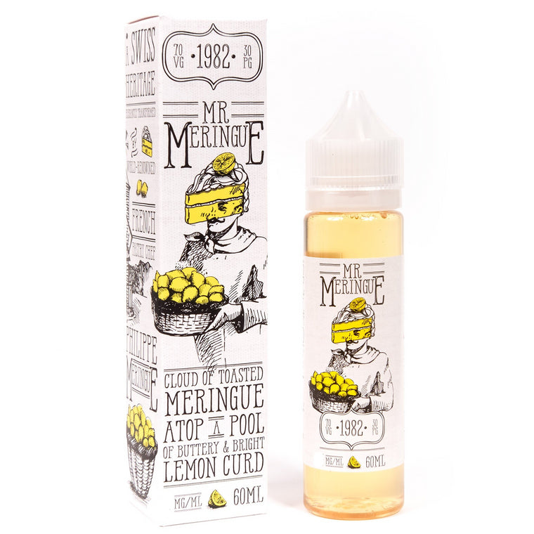 Charlie's Chalk Dust - Mr Meringue 60ml - The Mist Factory Melbourne Vape Store