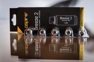 Aspire Breeze 2 Replacement Coils (1pcs) - The Mist Factory Melbourne Vape Store