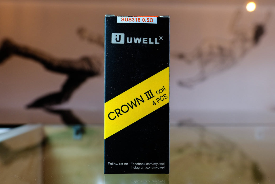 Uwell Crown III Coils (1pcs) - The Mist Factory Melbourne Vape Store