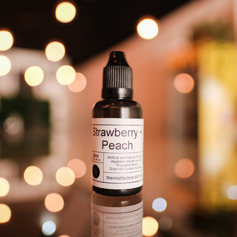 Strawberry Peach - The Mist Factory Melbourne Vape Store