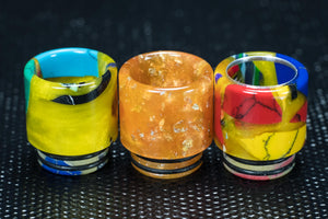 Medium Wide Bore 810 Resin Drip Tips - The Mist Factory Melbourne Vape Store