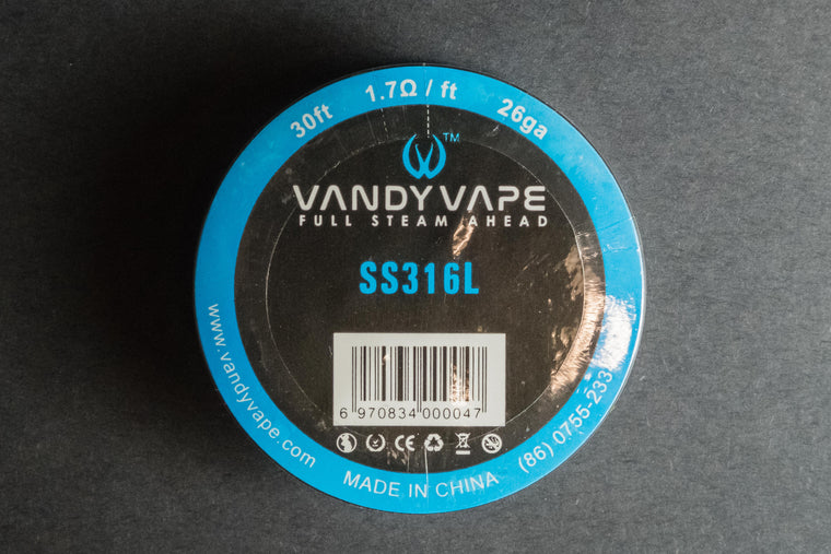 Vandyvape Stainless Steel 316L Wire - The Mist Factory Melbourne Vape Store