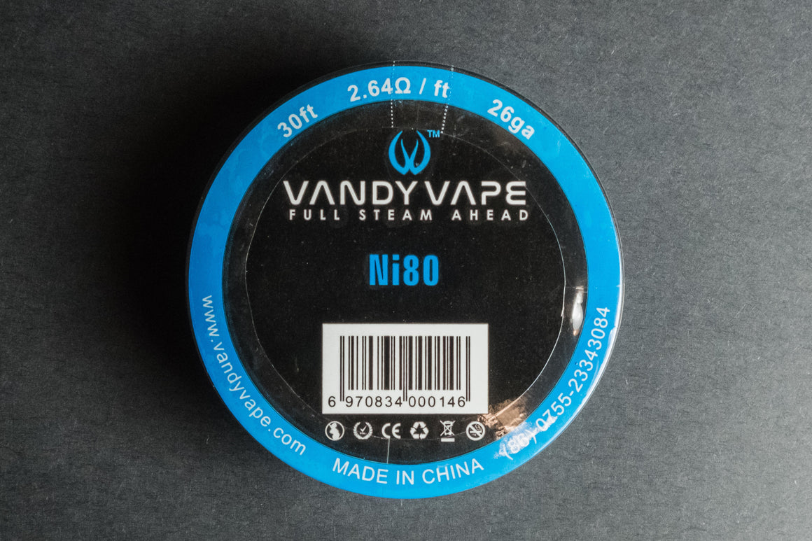 Vandyvape Pure Ni80 Wires - The Mist Factory