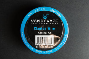 Vandyvape Clapton Kanthal Wire - 10ft - The Mist Factory Melbourne Vape Store