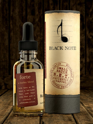 Black Note // 30ml - The Mist Factory Melbourne Vape Store