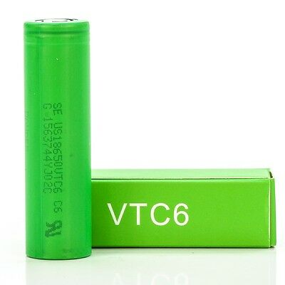 Sony VTC6 18650 Battery // 3000mAh 30A - The Mist Factory Melbourne Vape Store