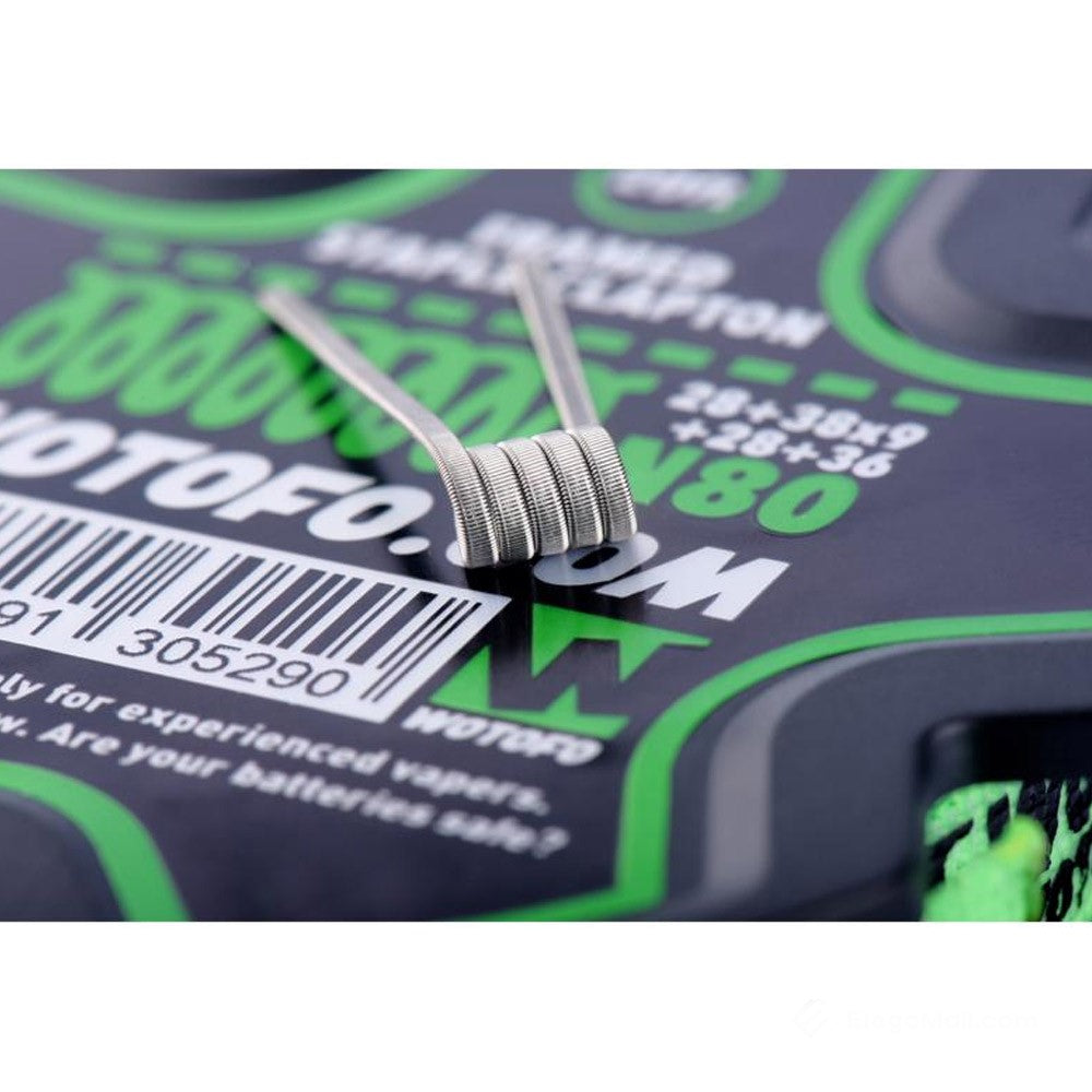 Wotofo Framed Staple Clapton Wire 20ft - The Mist Factory Melbourne Vape Store