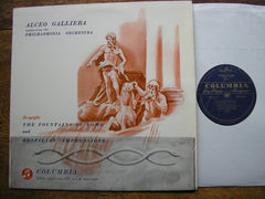 RESPIGHI: FOUNTAINS OF ROME / BRAZILIAN IMPRESSIONS   GALLIERA / PHILHARMONIA    33CX 1339