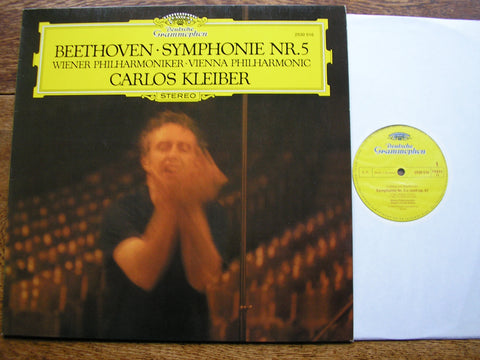 BEETHOVEN: SYMPHONY No. 5  KLEIBER / VIENNA PHILHARMONIC   2530 516