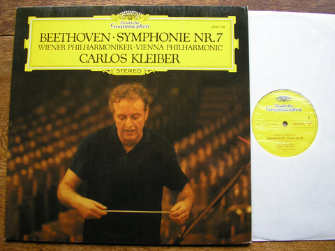 BEETHOVEN: SYMPHONY No. 7   KLEIBER / VIENNA PHILHARMONIC   2530 706