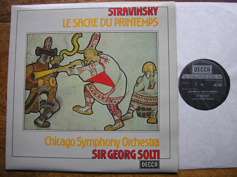 STRAVINSKY: THE RITE OF SPRING   SOLTI / CHICAGO SYMPHONY  SXL 6691