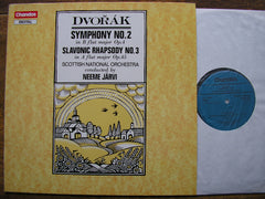 DVORAK: THE NINE SYMPHONIES   JAARVI / SCOTTISH NATIONAL ORCHESTRA   9 LP SET