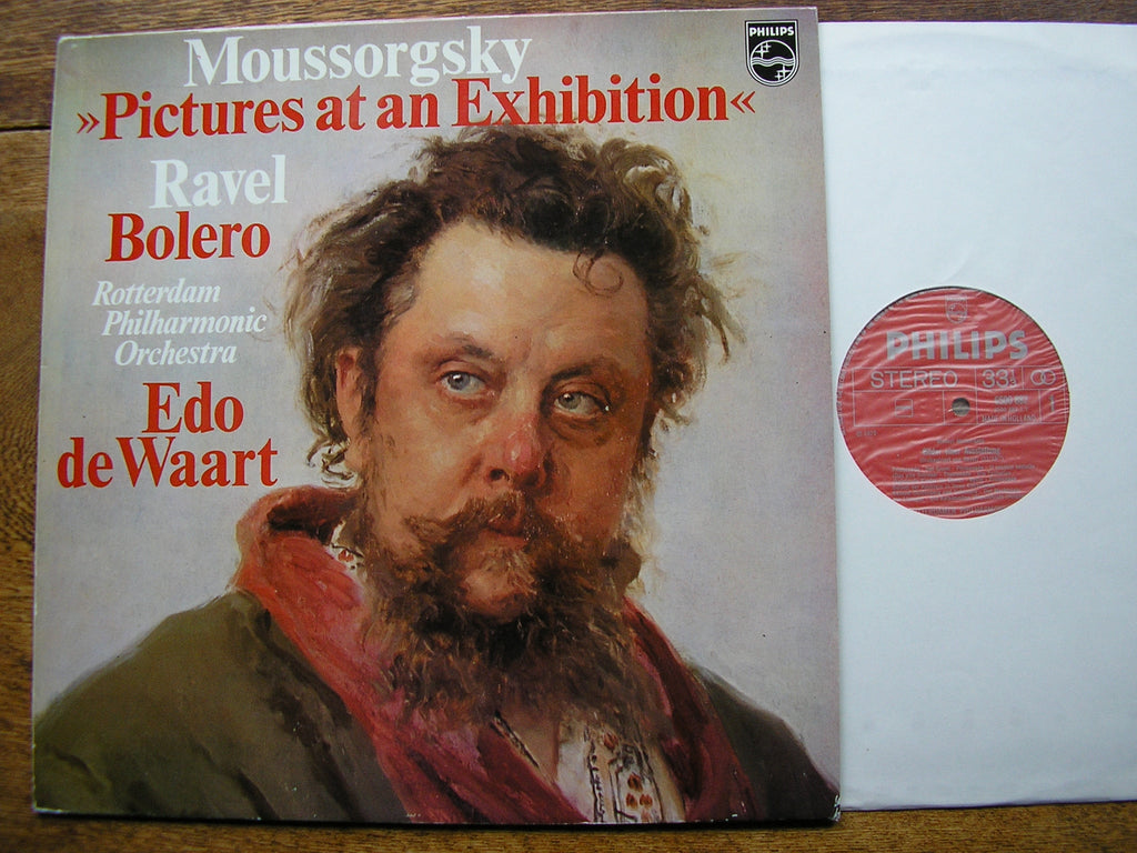 MUSSORGSKY: PICTURES AT AN EXHIBITION / RAVEL: BOLERO  DE WAART / ROTTERDAM PHILHARMONIC   6500 882