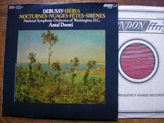 DEBUSSY: NOCTURNES / IBERIA   DORATI / NATIONAL SYMPHONY ORCHESTRA OF WASHINGTON   CS6968