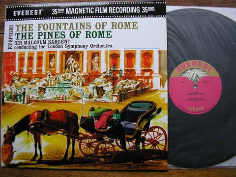RESPIGHI: PINES OF ROME / FOUNTAINS OF ROME  SARGENT / LONDON SYMPHONY  SDBR 3051